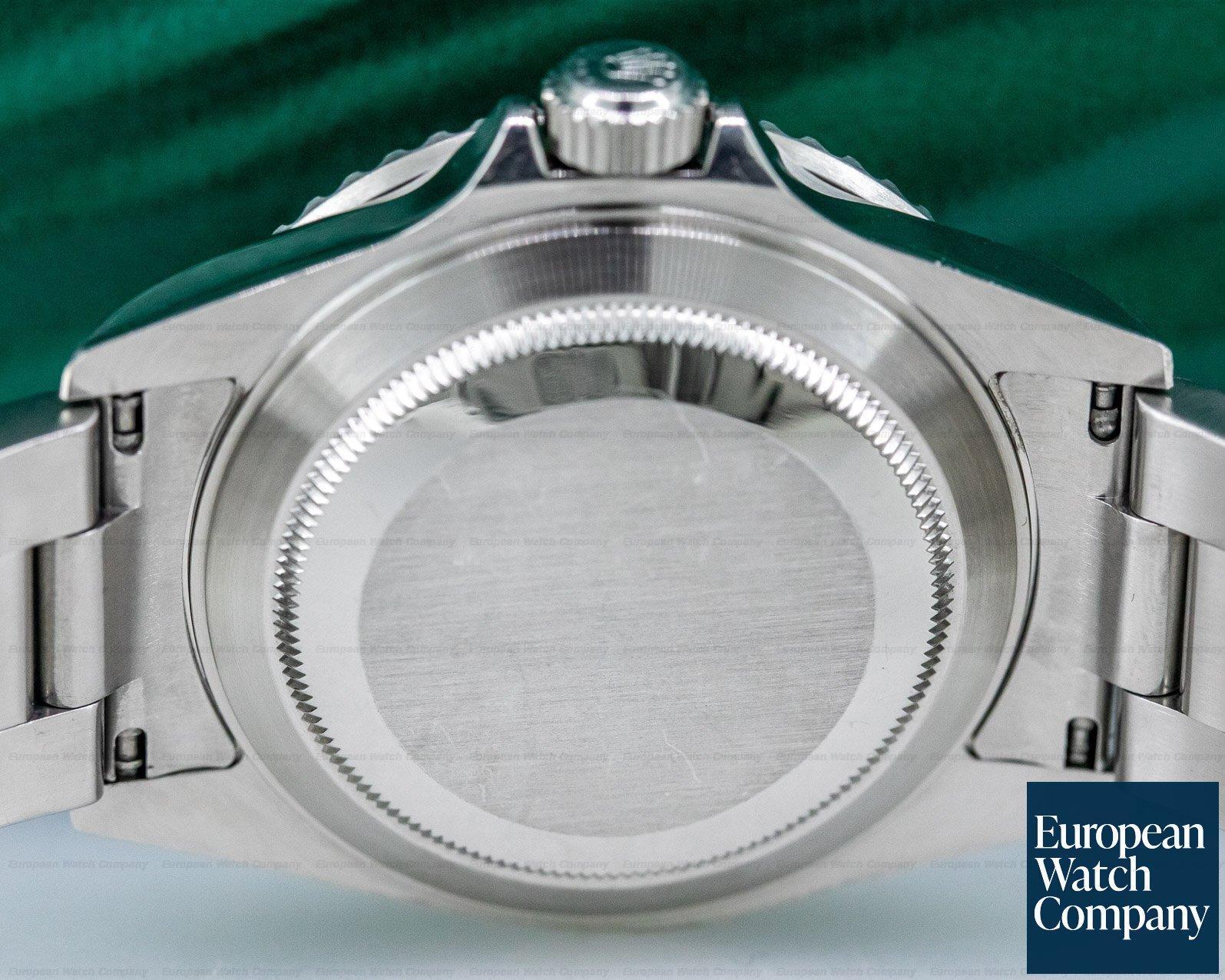 Rolex 16610LV Submariner 50th Anniversary SS Green Bezel