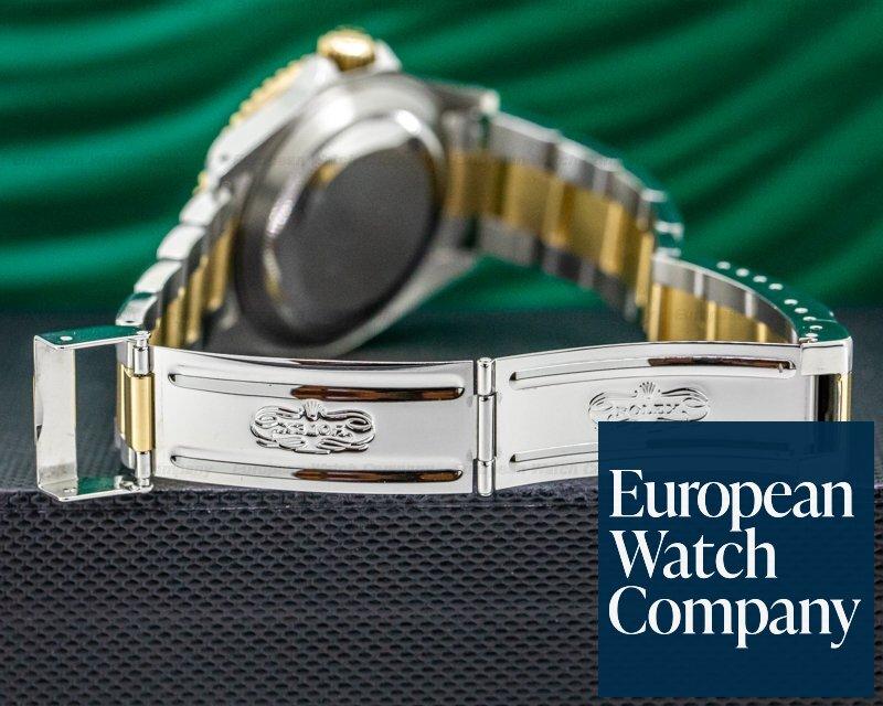 Rolex 16613 Submariner 18K / SS Champagne Serti Dial