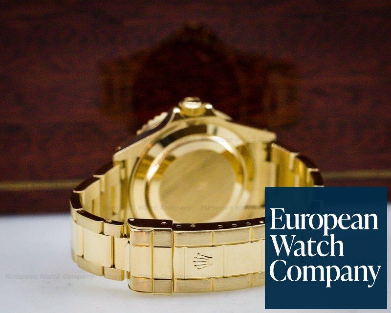Rolex 16618 Rolex Submariner Bule Dial 18K Yellow Gold