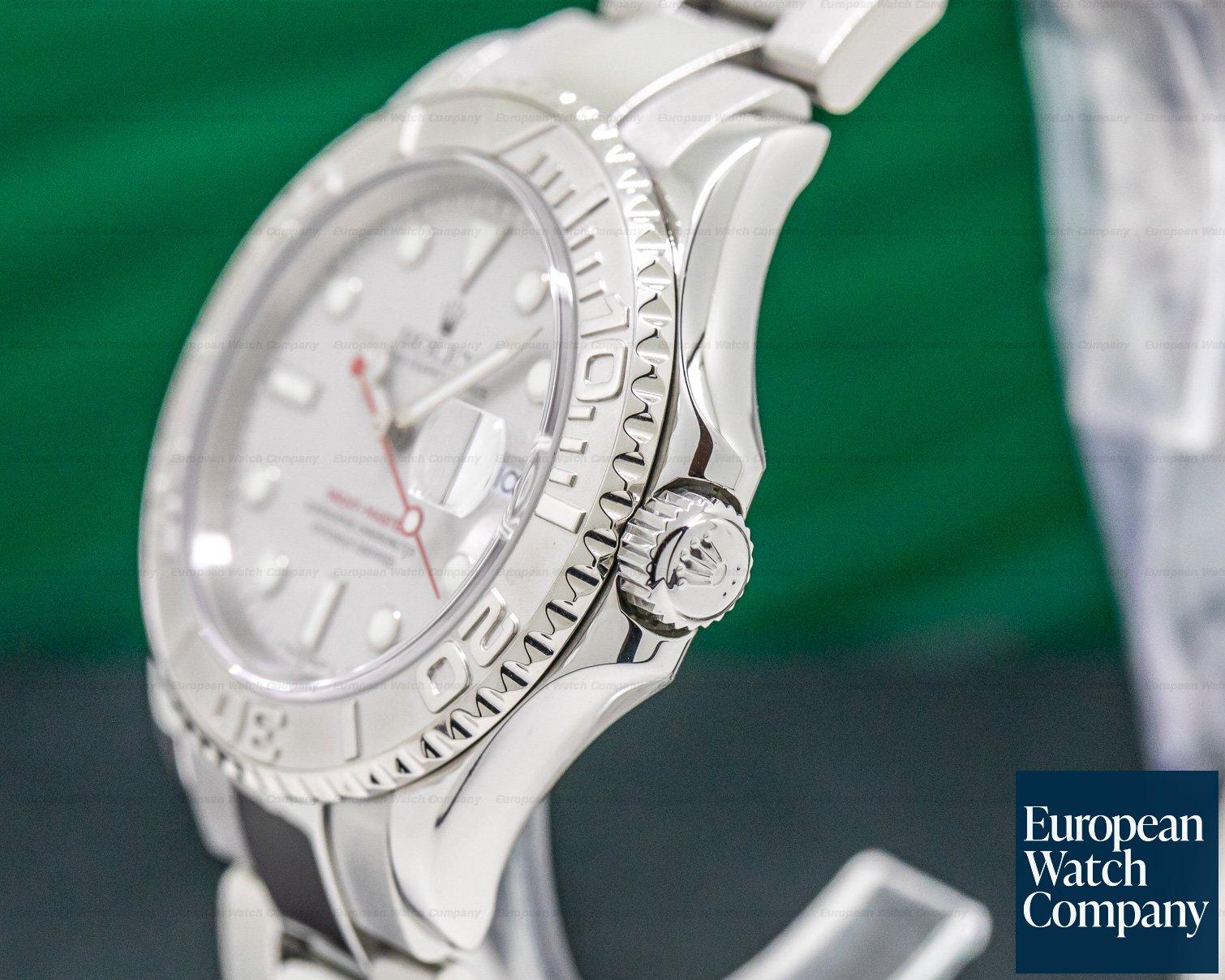 Rolex 16622 Yacht Master 16622 SS Platinum Bezel