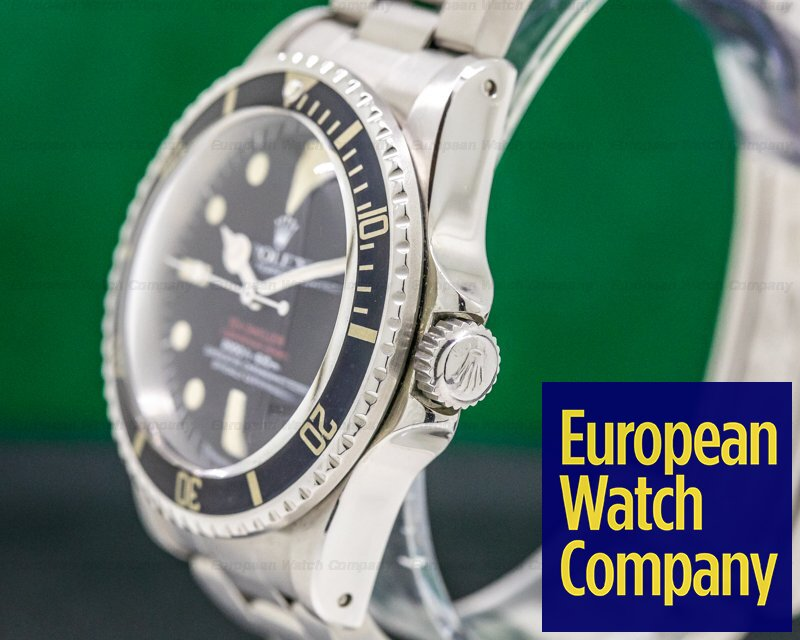 "Rolex 1665 Vintage ""Double Red"" Sea Dweller Mark IV Dial SS / SS"