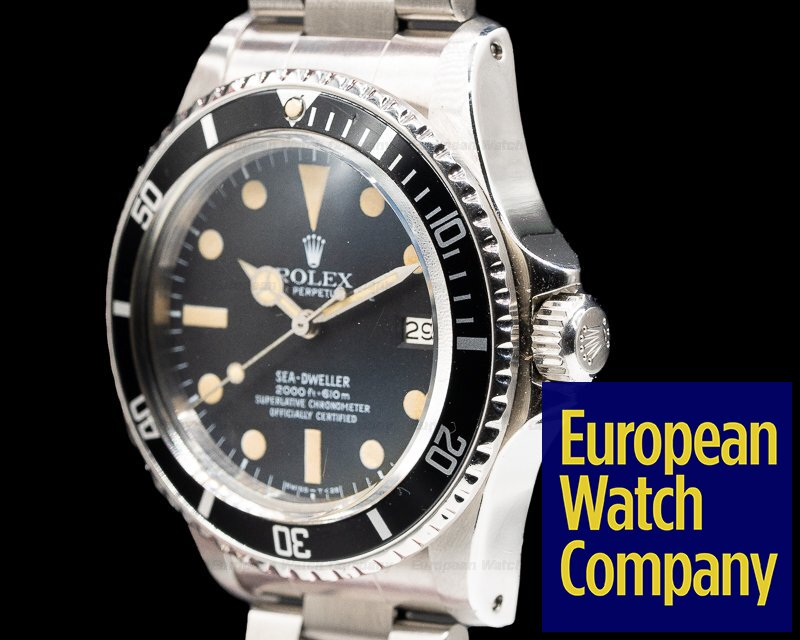 "Rolex 1665 Vintage Sea Dweller ""Great White"" c. 1978 Mark I"