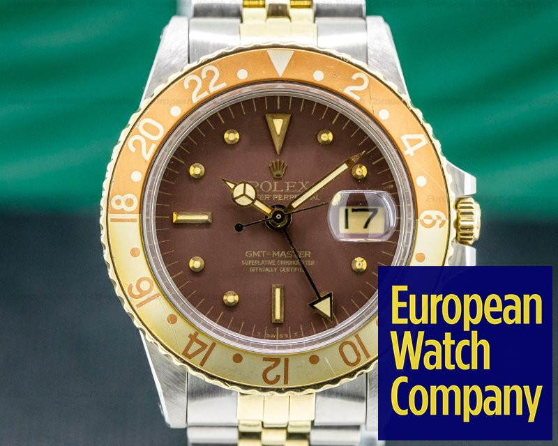 Rolex 1675 GMT Master Brown Nipple Dial