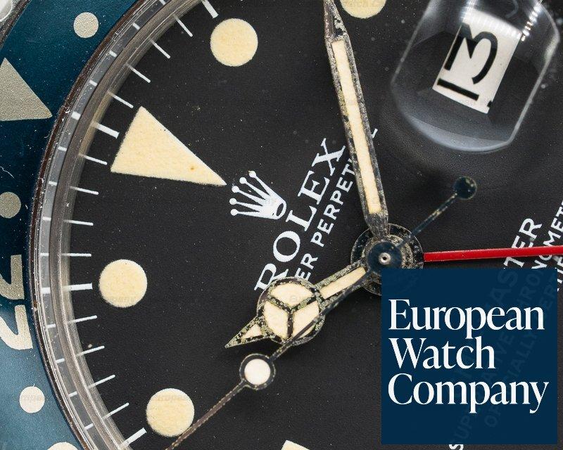 Rolex 1675 Vintage GMT Master Matte Dial / Red Hand Circa 1971