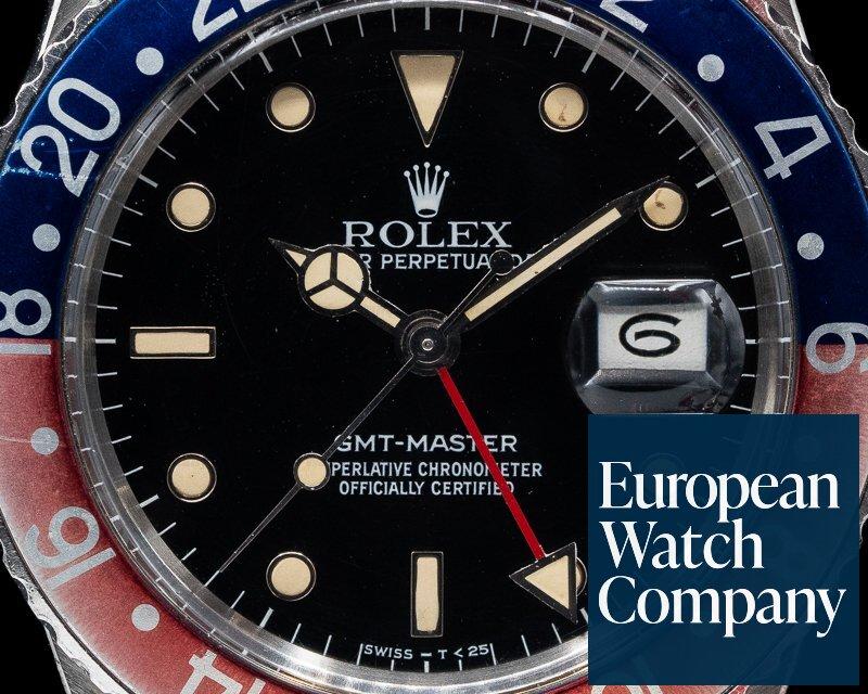 "Rolex 16750 GMT Master Blue / Red ""Pepsi Bezel"" Circa 1984"