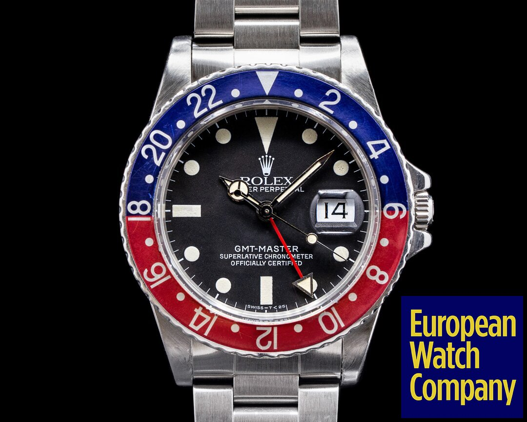 Rolex 16750 GMT Master Transitional