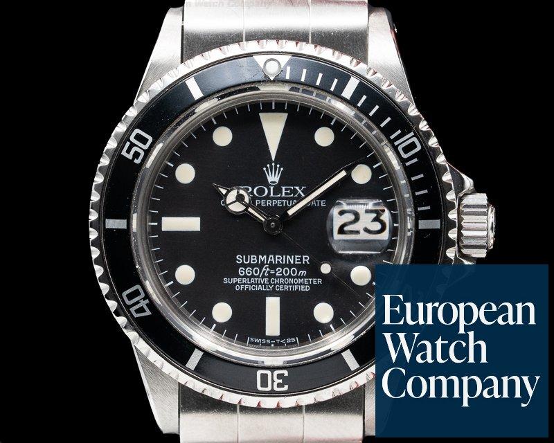 Rolex 1680 Submariner 1680 SS BOX & PAPERS Circa 1974
