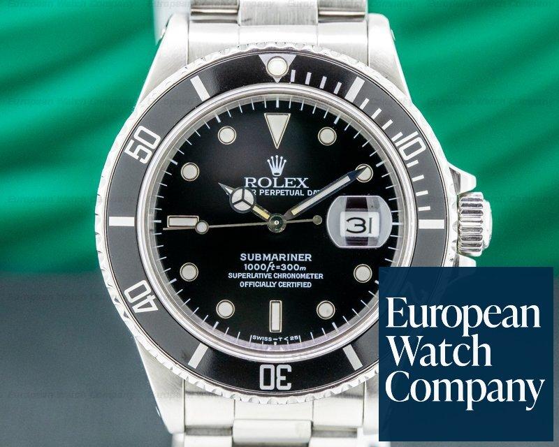 Rolex 168000 Submariner