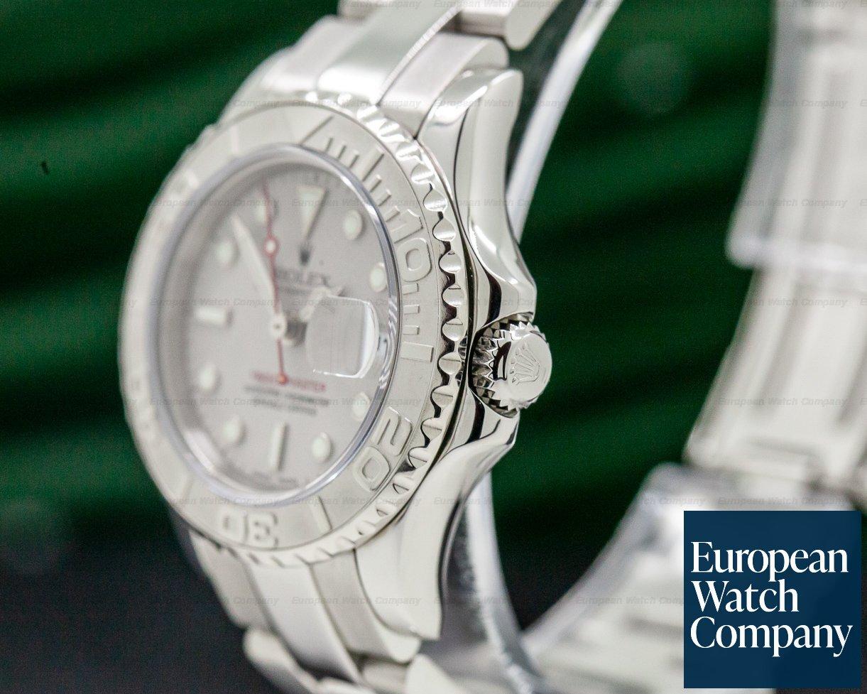 Rolex 169622 Ladies Yacht Master SS / Platinum Bezel