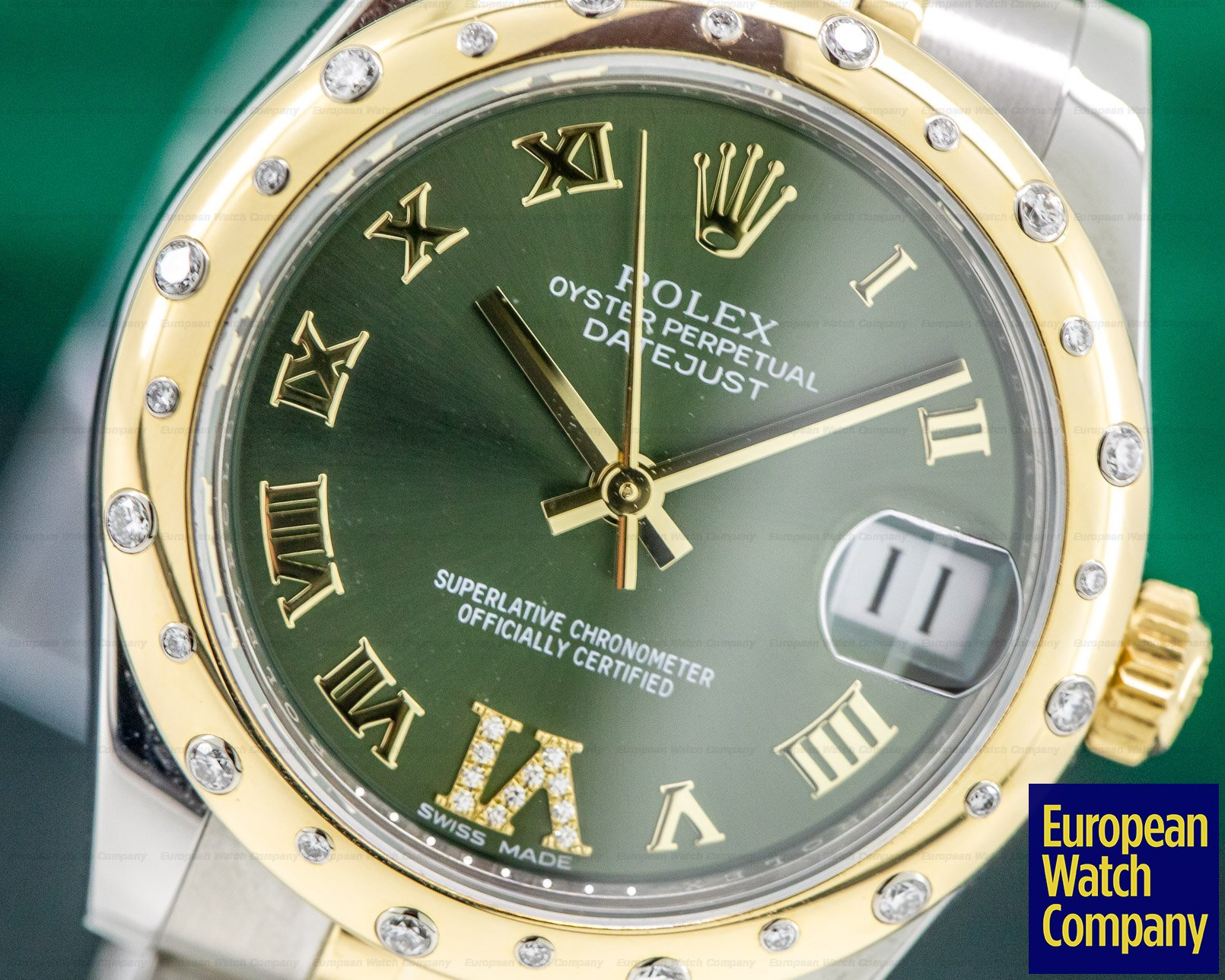 Rolex 178343 Datejust 31MM 18K Yellow Gold and Stainless Steel