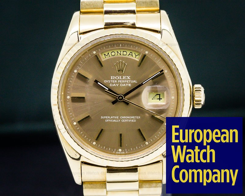 Rolex 1803 Oyster Perpetual Day Date 18K Yellow Gold / Copper Dial