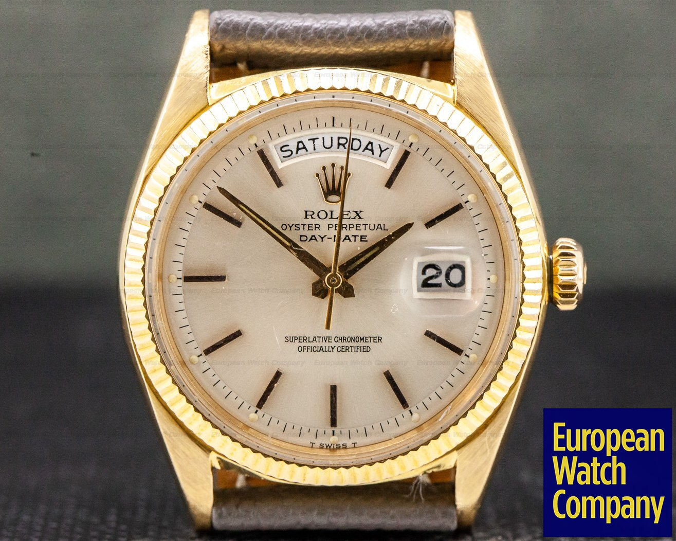 Rolex 1803 Oyster Perpetual Day Date 18K Yellow Gold