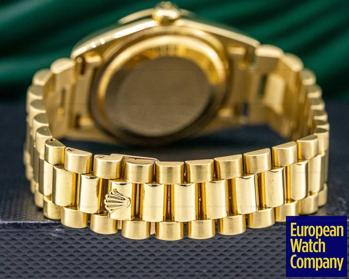 Rolex 18238 Day Date President White Dial 18K Yellow Gold