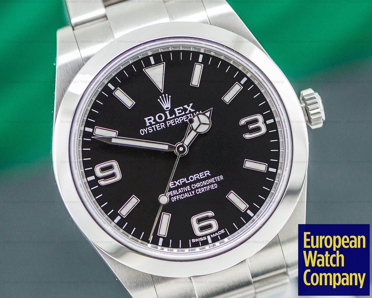 Rolex 214270 Explorer I Black Dial 39MM 2019