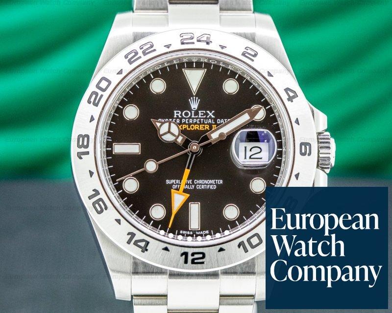 Rolex 216570 Explorer II Black Dial SS / FULL SET 2019