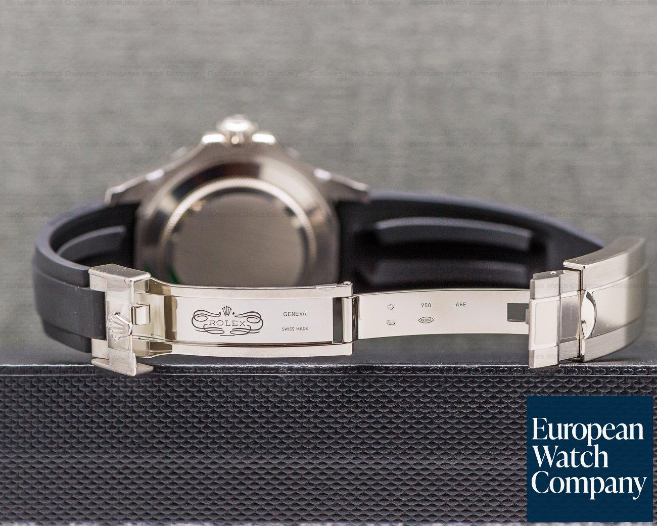 Rolex 226659 Yacht Master 18K White Gold / Rubber New 2019 Model UNWORN