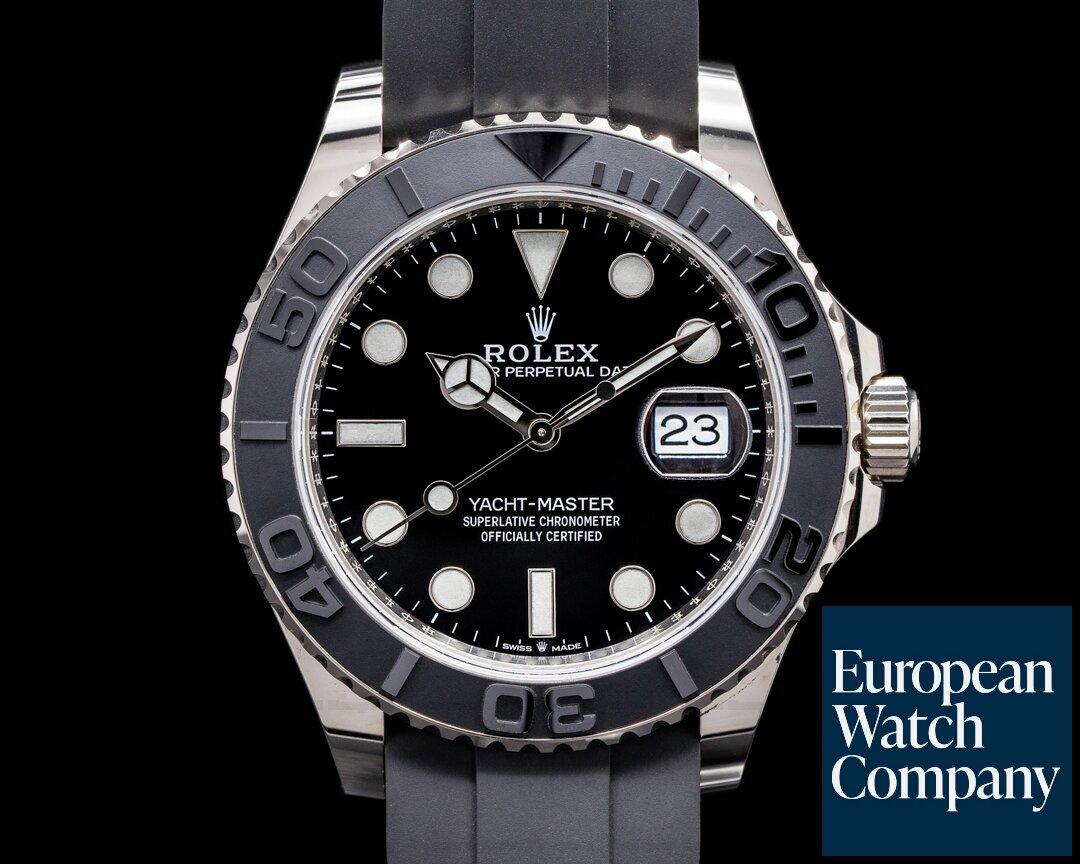 Rolex 226659 Yacht Master 226659 18K White Gold / Rubber 42MM