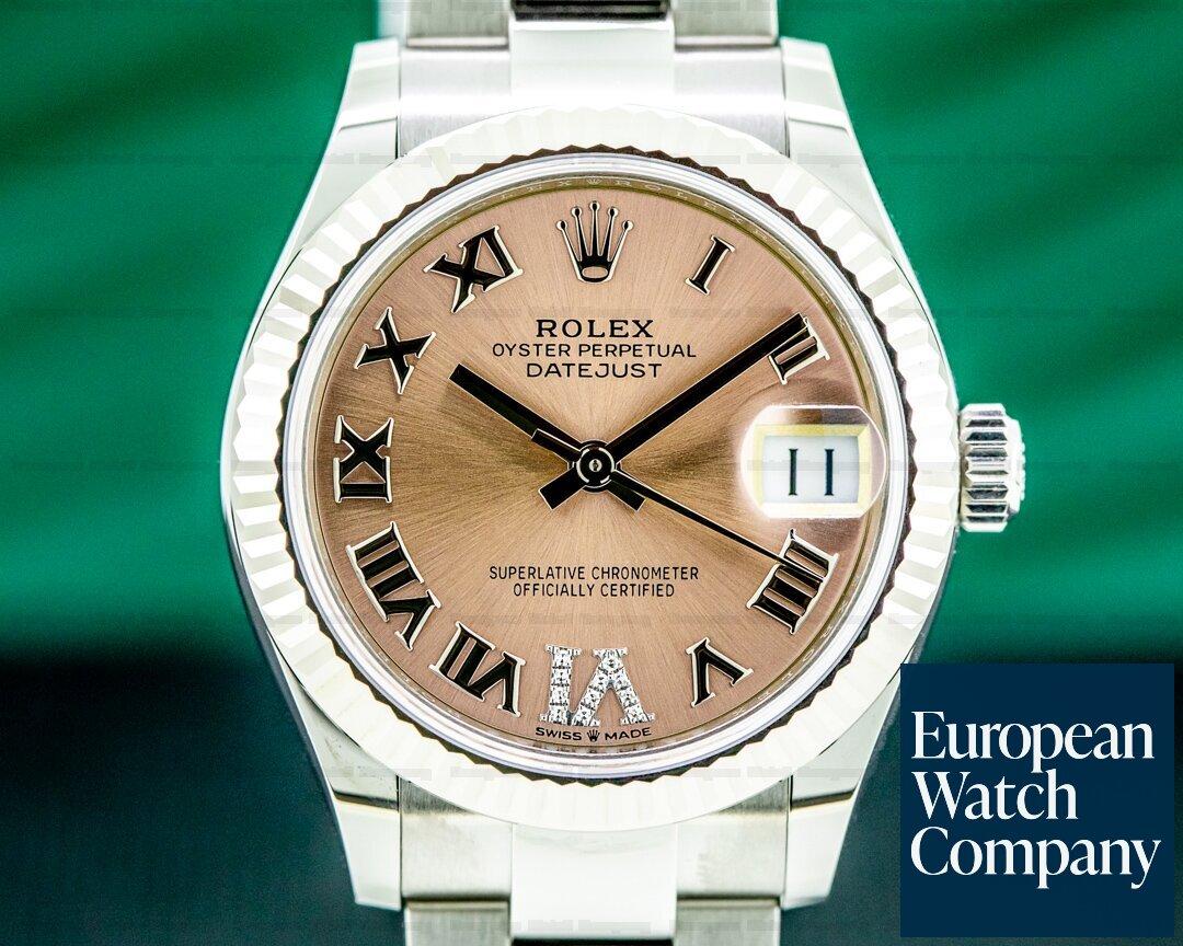Rolex Datejust 31MM Stainless Steel Pink Dial UNWORN Ref. 278274
