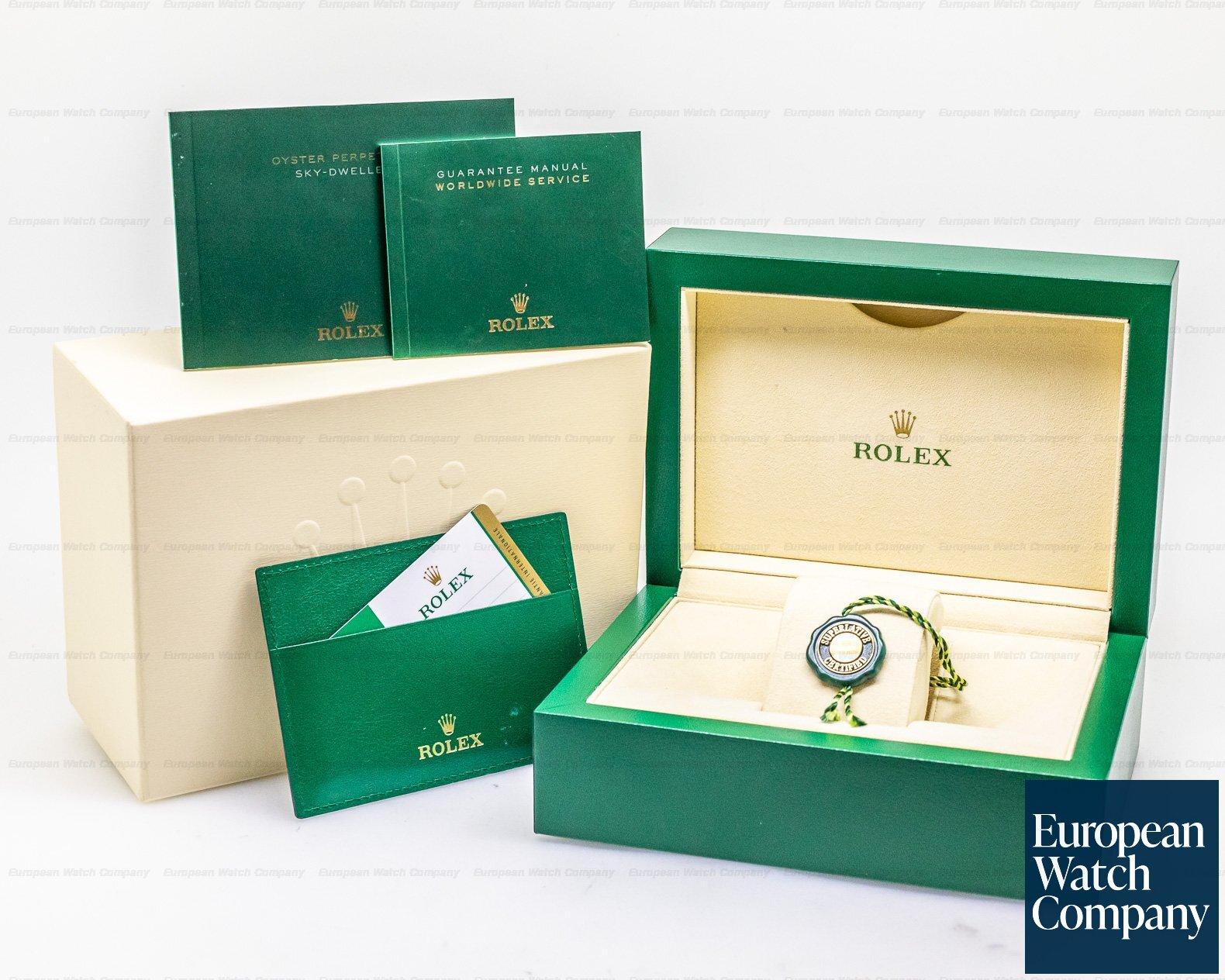 Rolex 326934 Sky Dweller Steel Blue SS / Bracelet