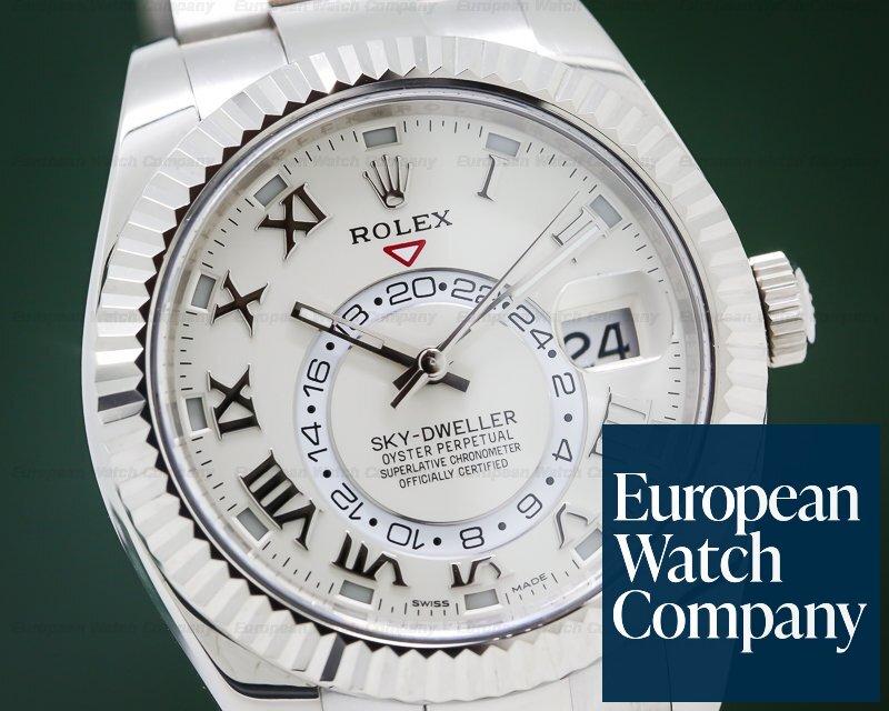 Rolex 326939 Sky Dweller 18K White Gold