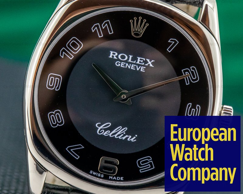Rolex 4233 Cellini Danaos White Gold / White Gold