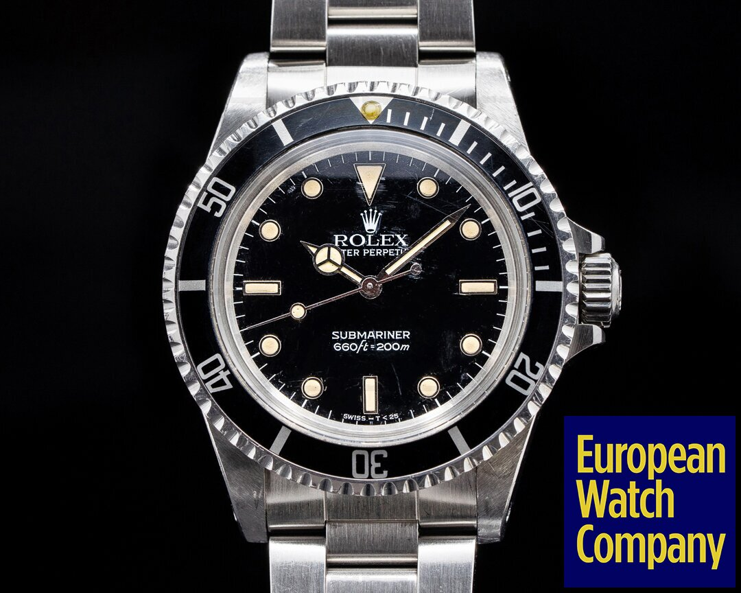 Rolex Vintage Gloss Dial Submariner 5513 MKIII Ref. 5513