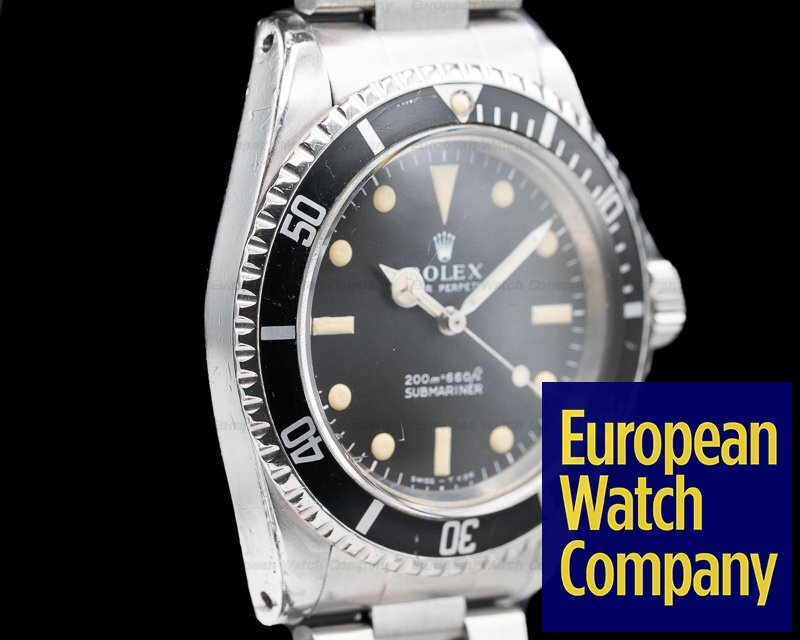 "Rolex 5513 Vintage Submariner 5513 ""Meters First"" Circa 1967"