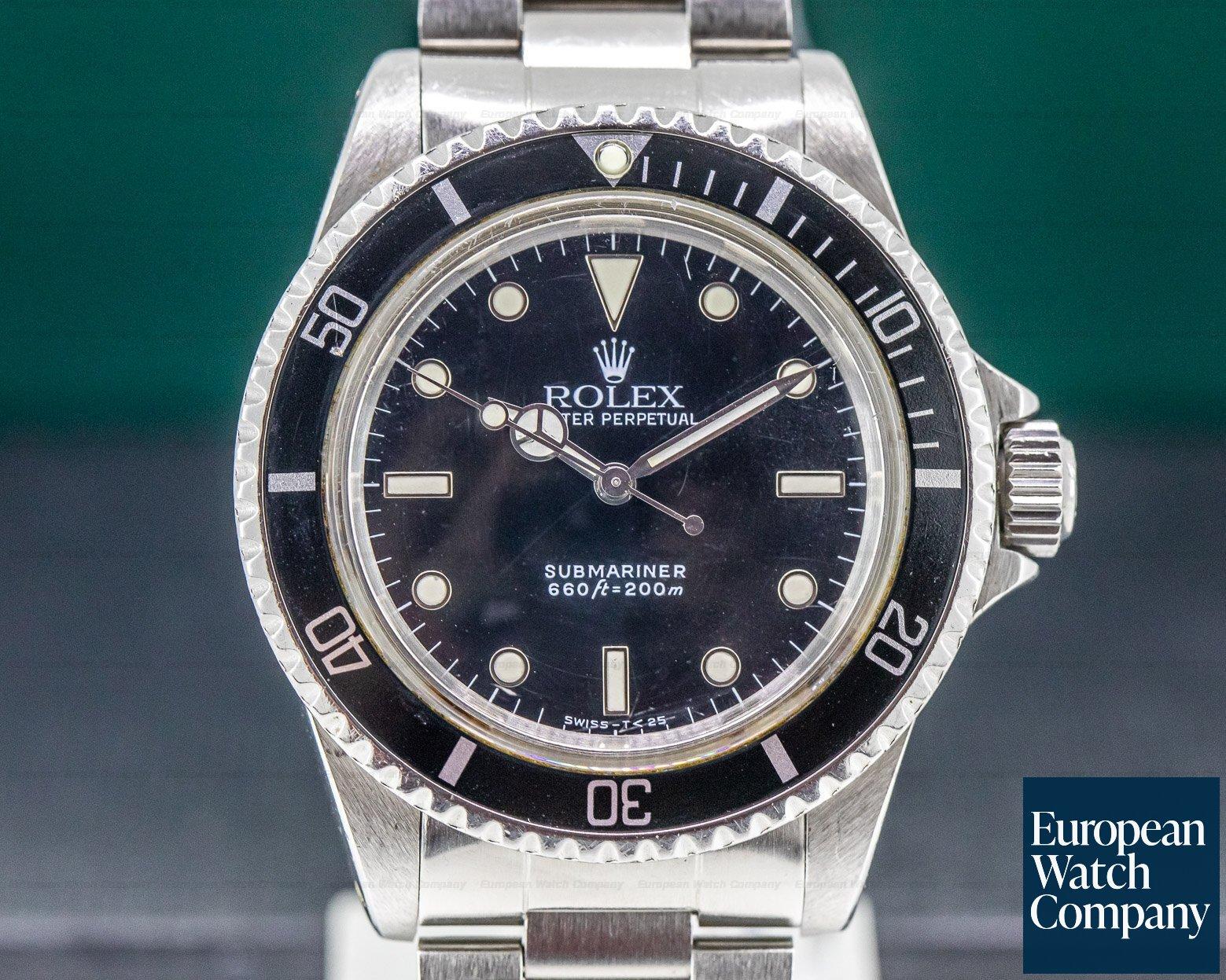 Rolex 5513 Vintage Submariner 5513