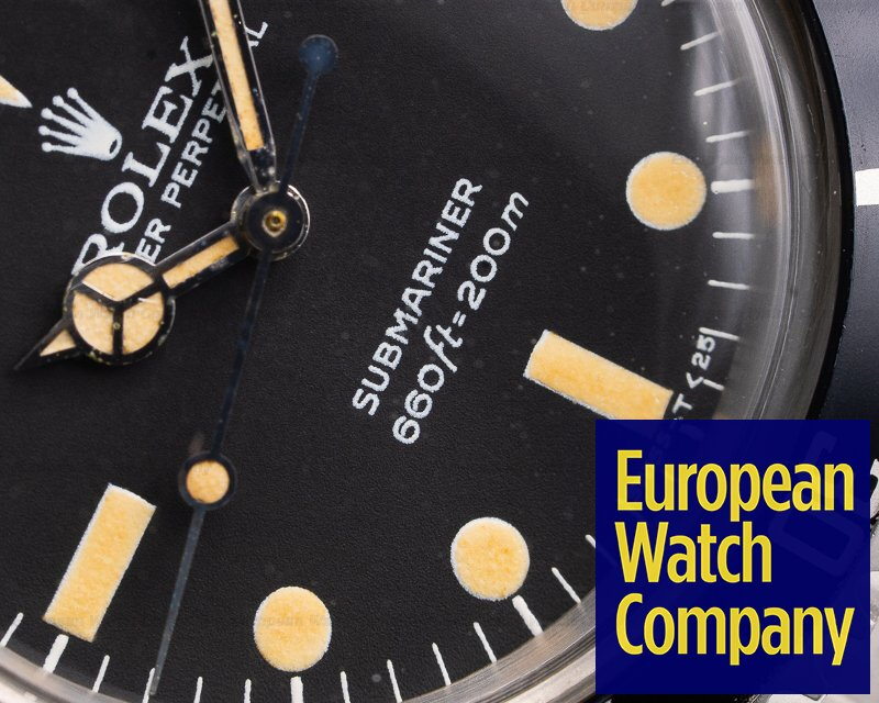 Rolex 5513 Vintage Submariner 5513 Maxi Matte Dial NICE