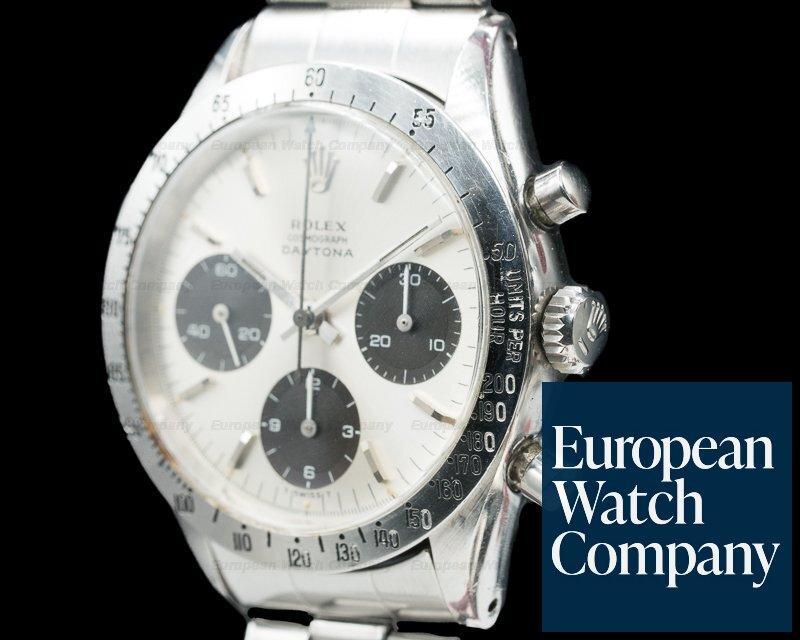 Rolex 6239 Vintage Daytona Silver Panda c. 1967