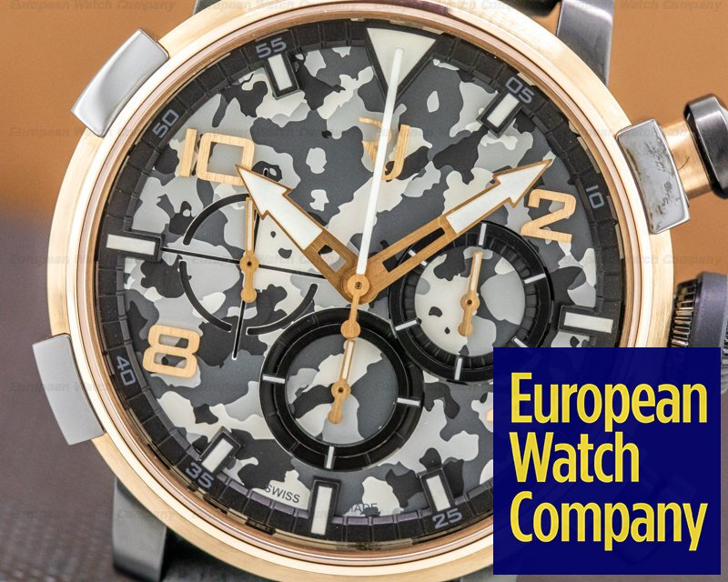 Romain Jerome RJ.P.CH.003.01 PinUp DNA Chronograph 18k RG / SS LIMITED