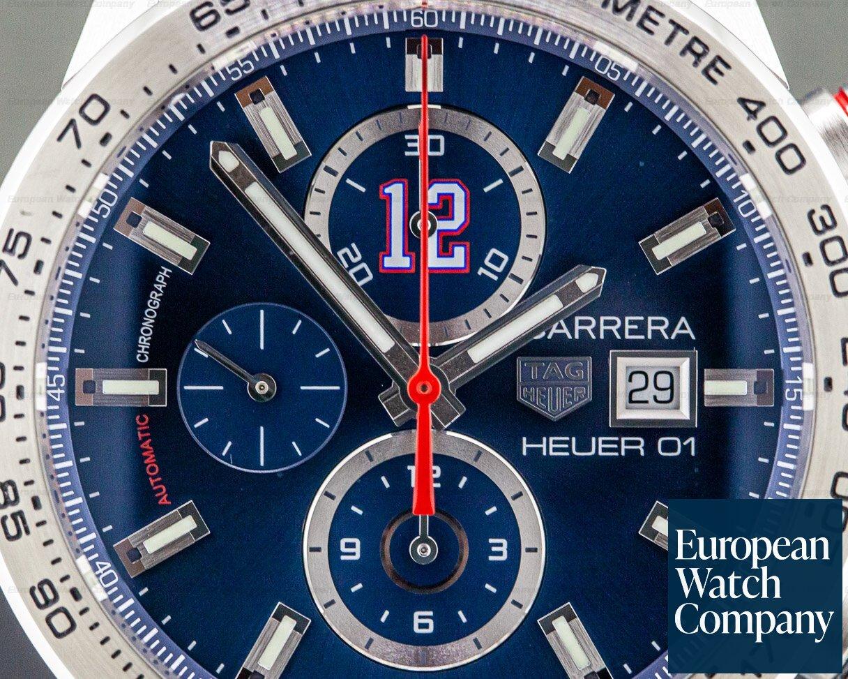 TAG Heuer CAR201R.FT6120 Carrera Tom Brady Limited Edition