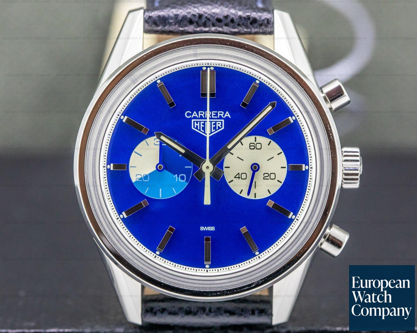 "TAG Heuer CAR221C.FC6350 Tag Heuer X The Rake X Revolution ""Blue Dreamer"" Carrera Chrono UNWORN"