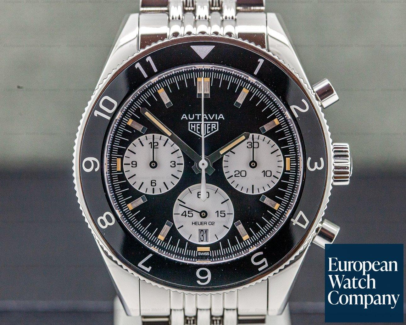 TAG Heuer CBE2110 Heuer Heritage Calibre 02 SS / Bracelet