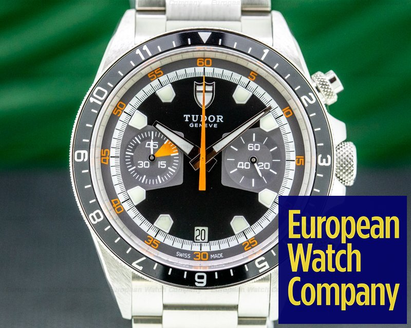 Tudor Heritage Chronograph Grey Dial SS / SS Ref. 70330N