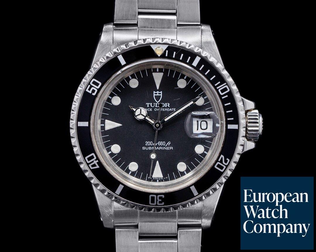 Tudor 79090 Submariner 79090 Black Dial SS / Bracelet c. 1989