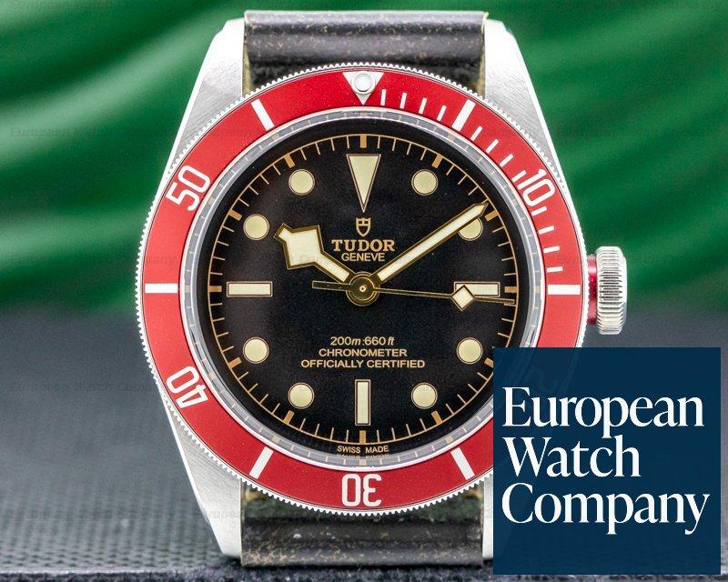 Tudor 79230N Tudor Heritage Black Bay BLACK SS / Leather