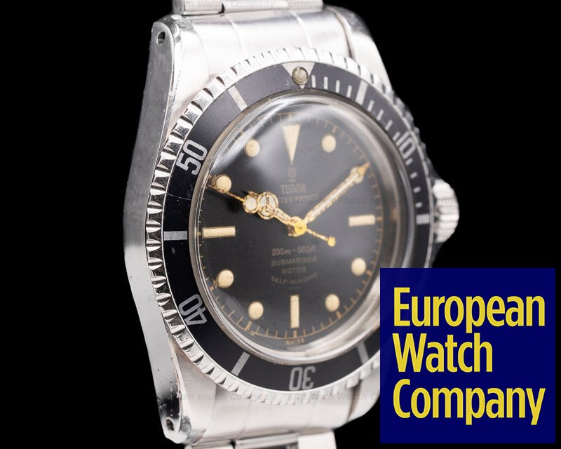 "Tudor 7928 Vintage Submariner ""Rose Logo"" Gilt Chapter Ring Circa 1963"