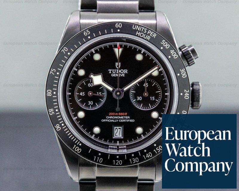 Tudor 79360DK Tudor Heritage Black Bay 79360DK Chronograph Dark Limited Edition UNWORN
