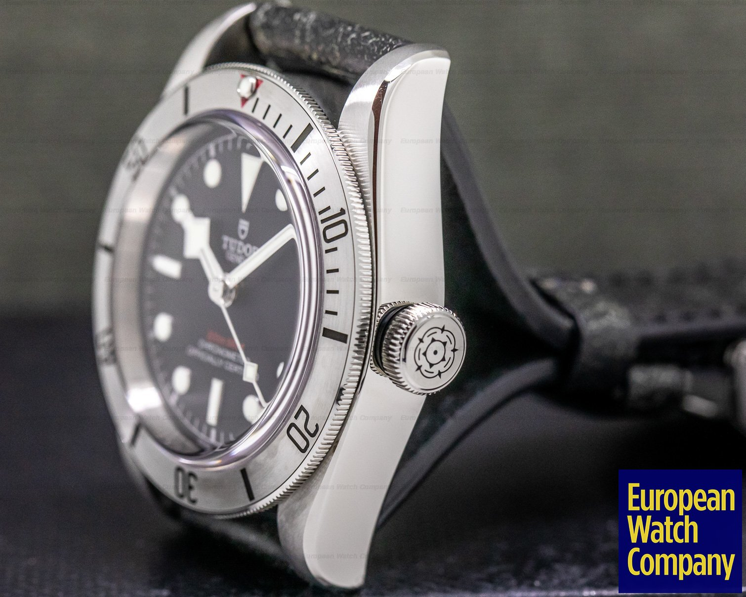 Tudor 79730 Tudor Heritage Black Bay 41 BLACK SS / Aged Leather