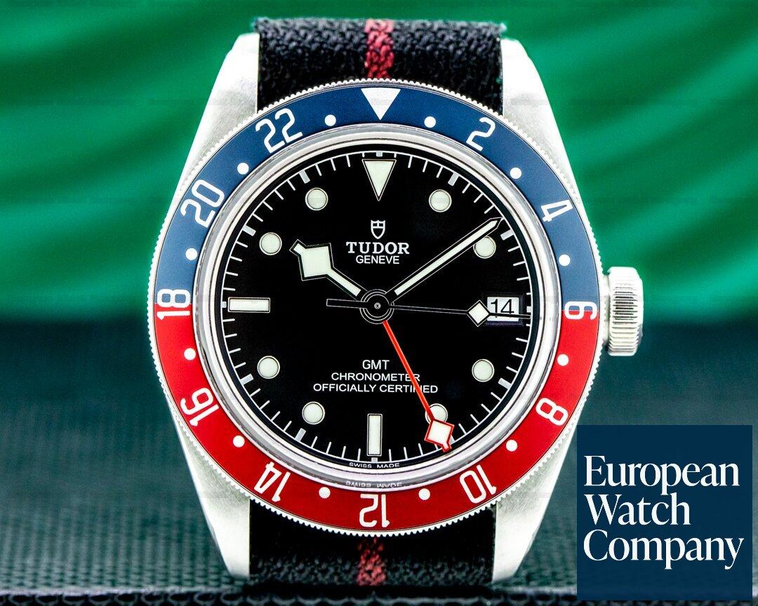 Tudor Tudor 79830 Heritage Black Bay GMT Ref. 79830RB