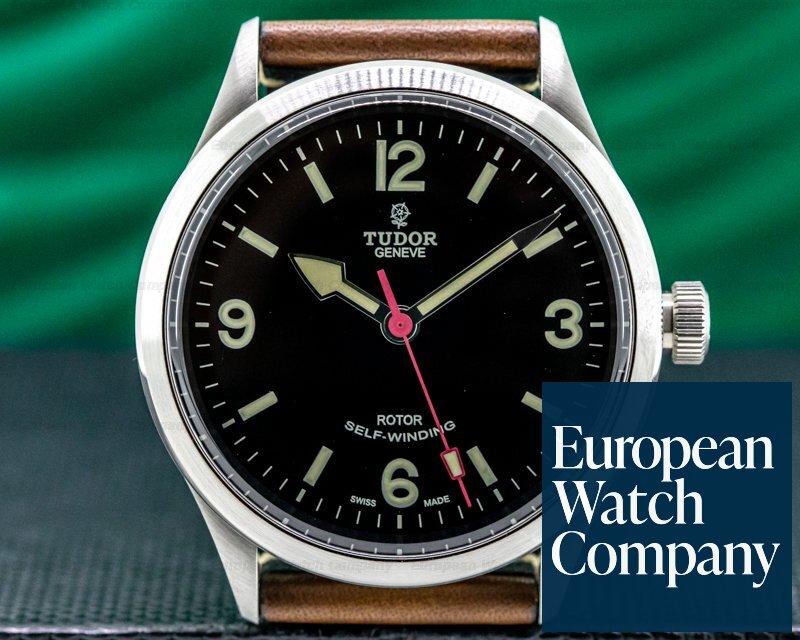 Tudor 79910 Heritage Ranger SS / Brown Leather UNWORN