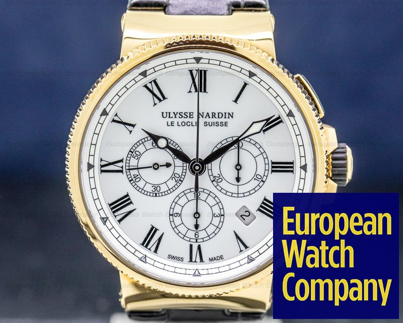 Ulysse Nardin 1506-150LE Marine Manufacture Chronograph Limited Edition