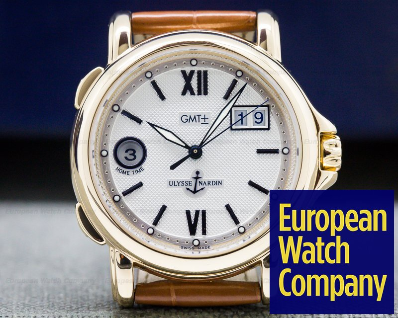 Ulysse Nardin 226-87 GMT +/- Big Date 18K Yellow Gold