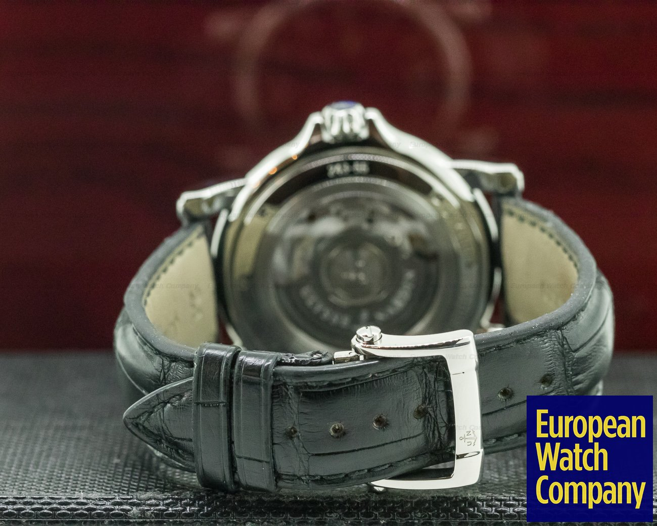 Ulysse Nardin 243-55/62 GMT +/- Big Date SS/SS Black 42 mm