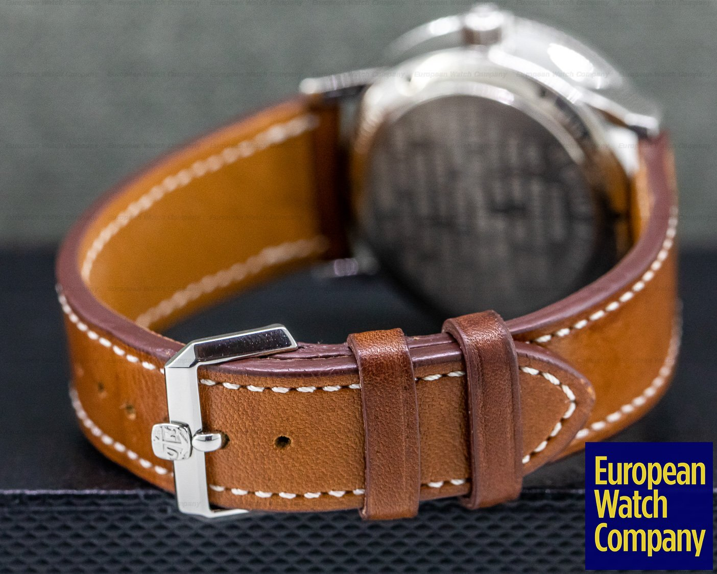 Ulysse Nardin 263-22 Marine Chronometer 1846 Silver Dial SS