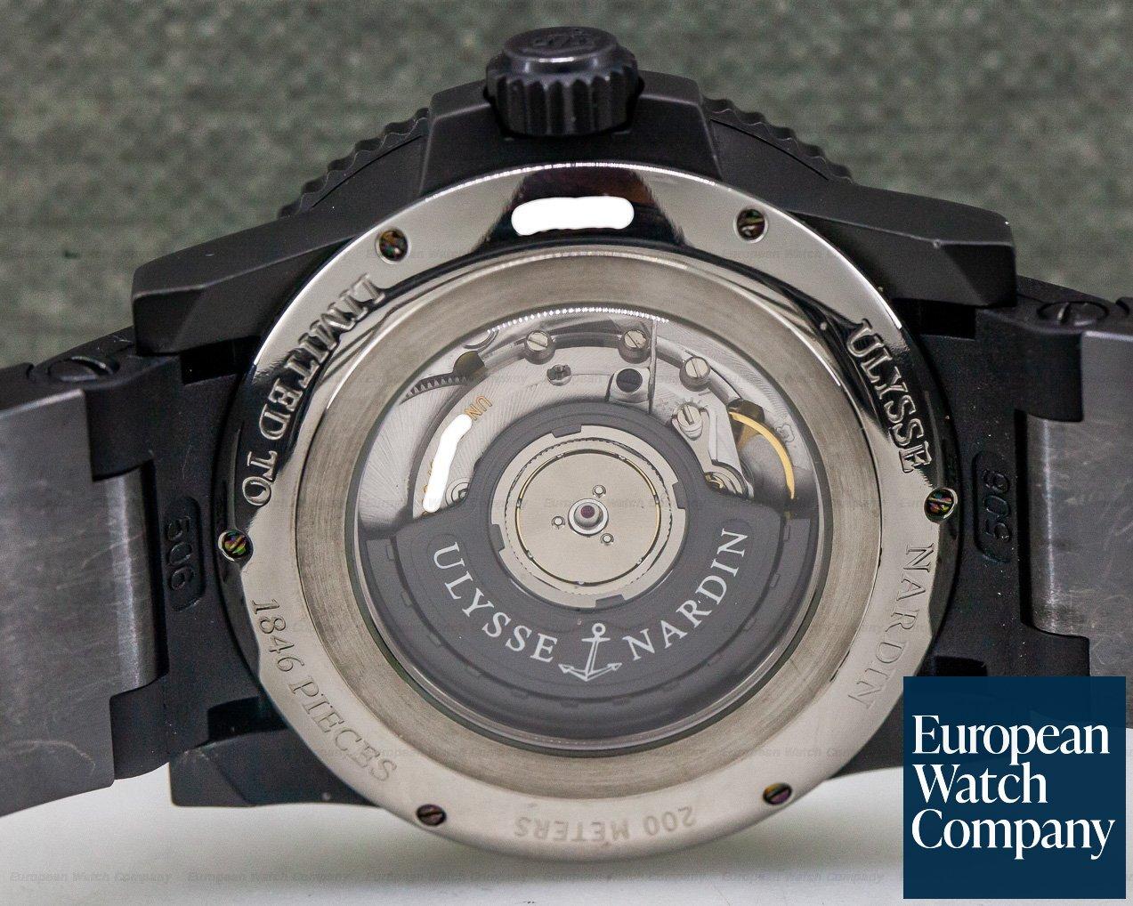 Ulysse Nardin 263-38LE-3 Maxi Marine Diver Black Ocean Limited