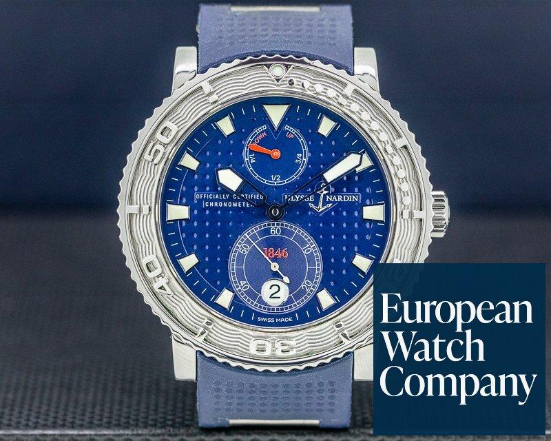 Ulysse Nardin 263-58-3LE Blue Max SS / Rubber