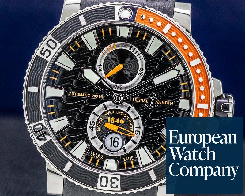Ulysse Nardin 263-90-3/92 Marine Diver Black Titanium / Rubber