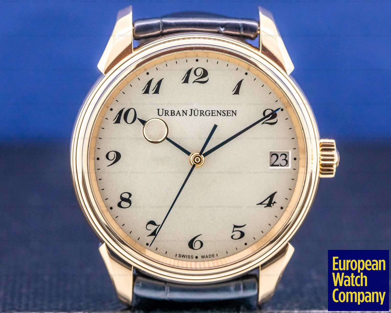 Urban Jurgensen 2240 RG Jules Collection 2240RG 18k Rose Gold / Breguet Numerals